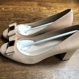 Cole Haan - Nude Tali Bow Pumps Size 9